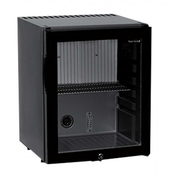 Mini Bar Réfrigéré Noir Porte Vitrée